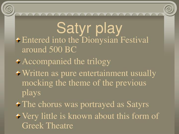 Satyr play