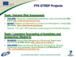 fp6 strep projects