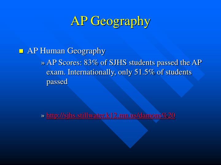 AP Geography