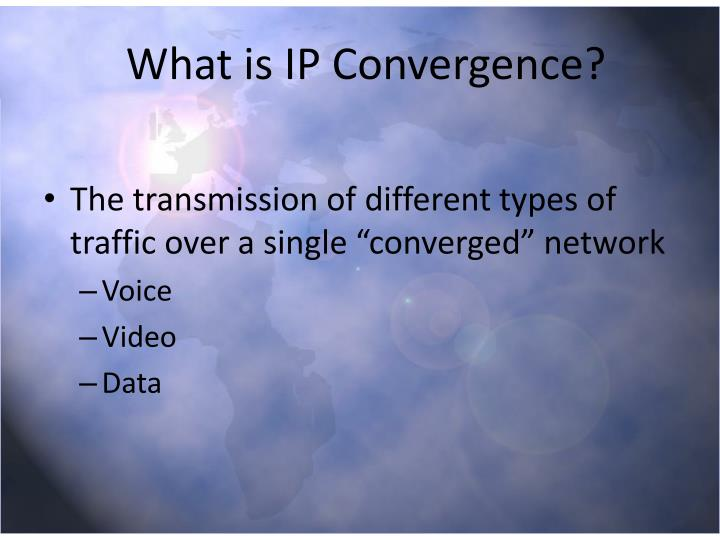 What is ip convergence