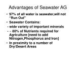 advantages of seawater ag