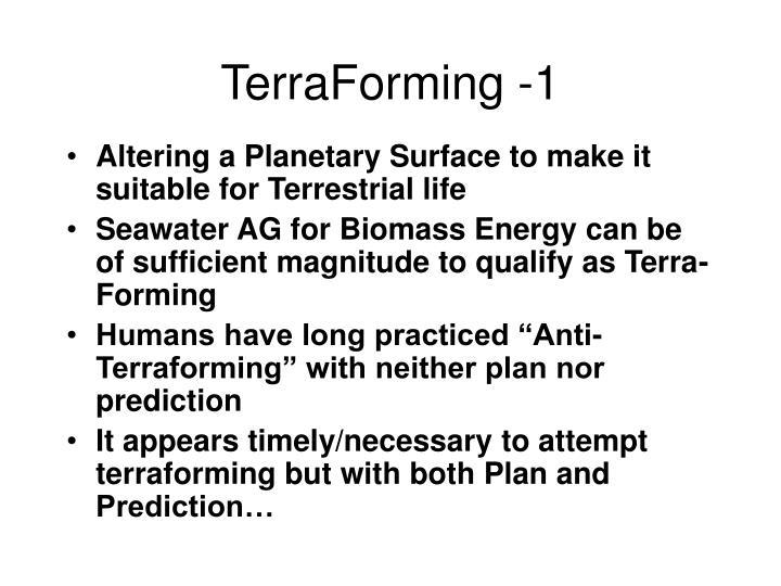 TerraForming -1