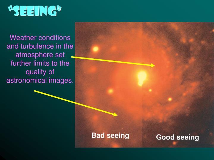 """Seeing"""