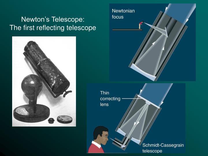 Newton's Telescope: