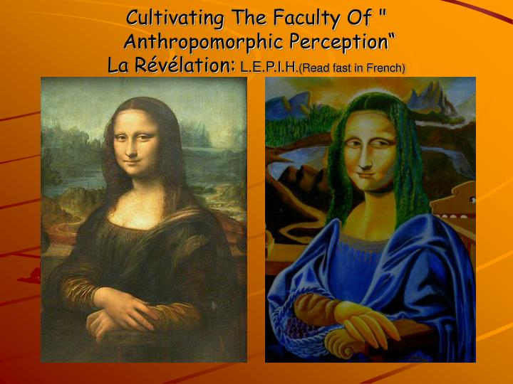Cultivating The Faculty Of ""