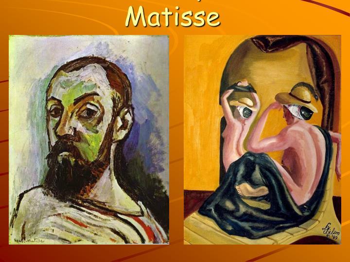 Les Odalisques de Matisse