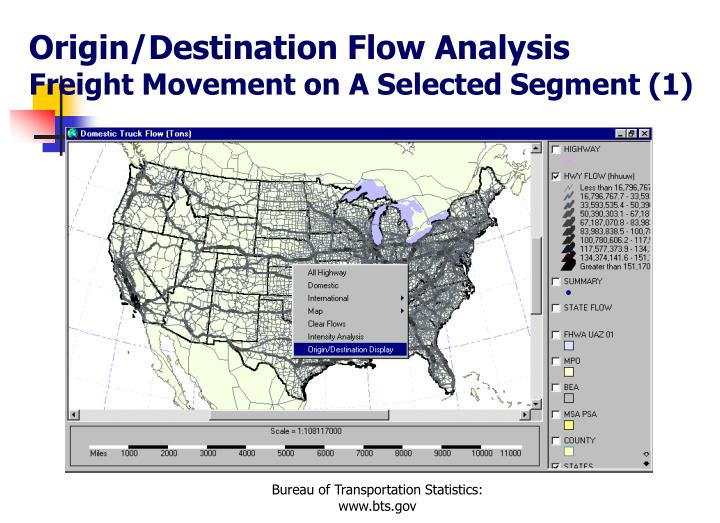 Origin/Destination Flow Analysis