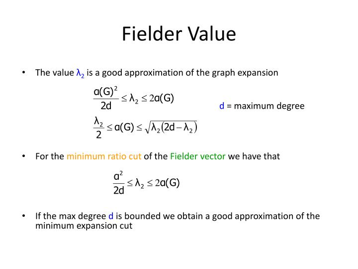 Fielder Value