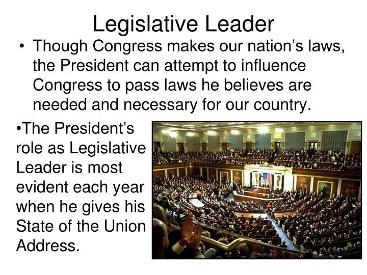 Legislative Leader