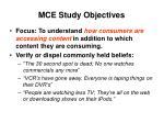 mce study objectives6