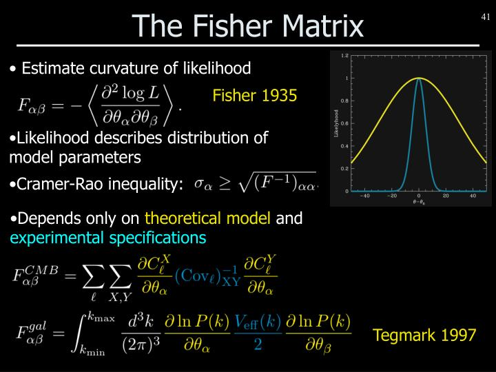 The Fisher Matrix