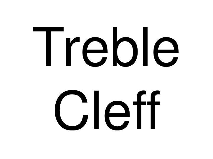 Treble Cleff
