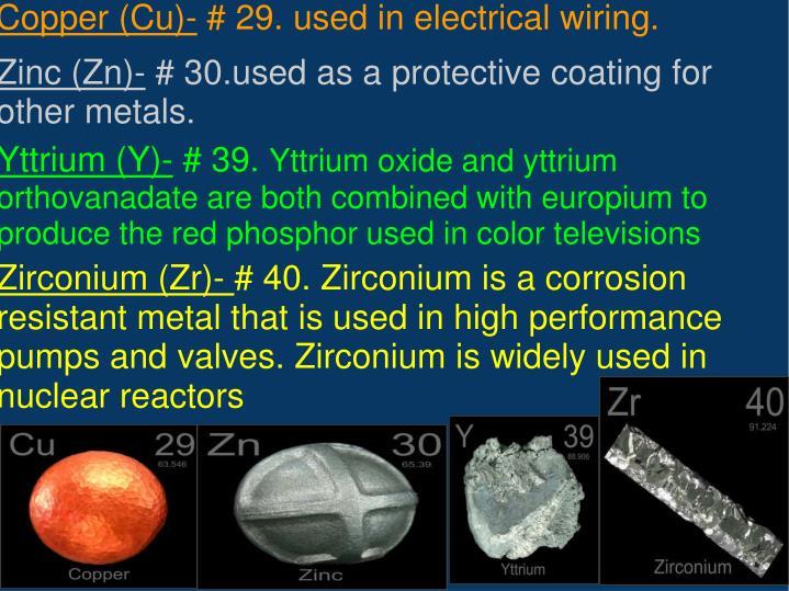 Yttrium (Y)-