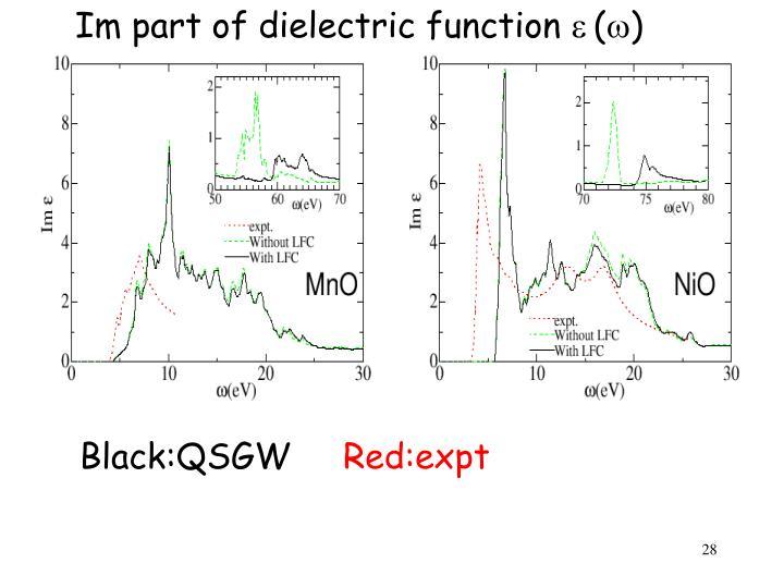 NiO MnO dielectric