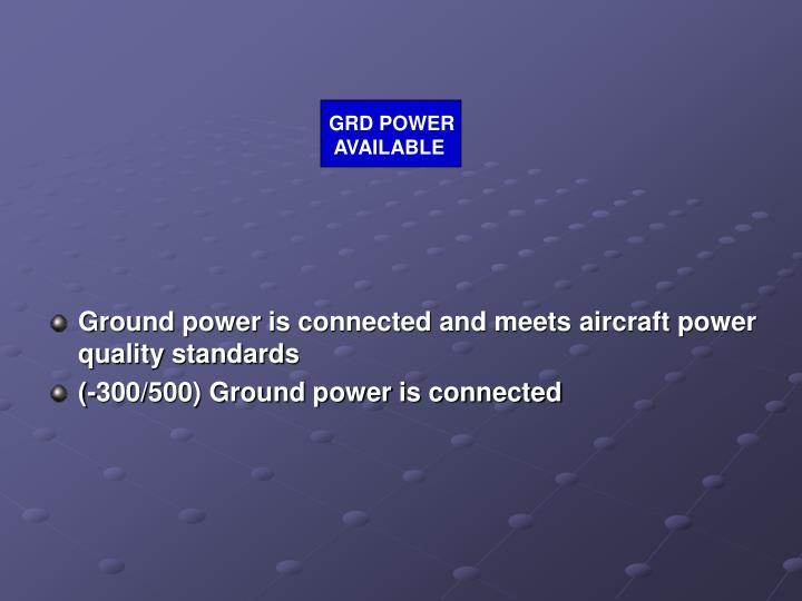 GRD POWER