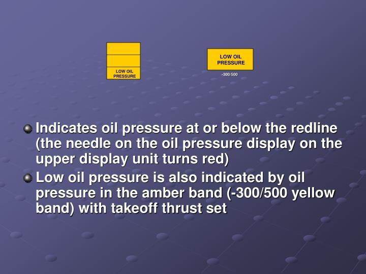 LOW OIL