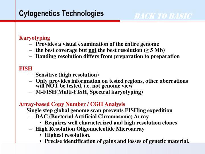 Cytogenetics Technologies