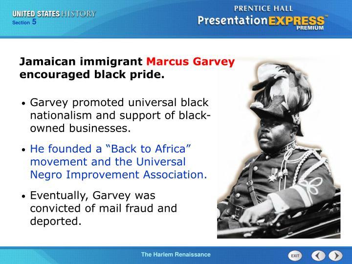 Jamaican immigrant