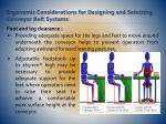 ergonomic considerations for designing and selecting conveyor belt systems15