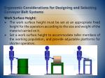 ergonomic considerations for designing and selecting conveyor belt systems7