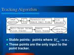 tracking algorithm