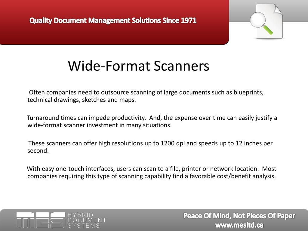 Wide-Format Scanners