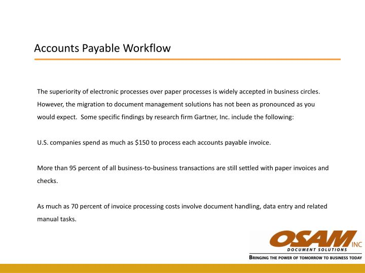 Accounts Payable Workflow