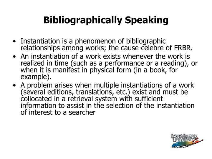 Bibliographically