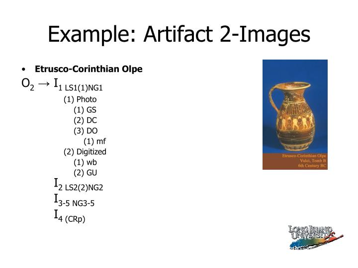 Example: Artifact 2-Images