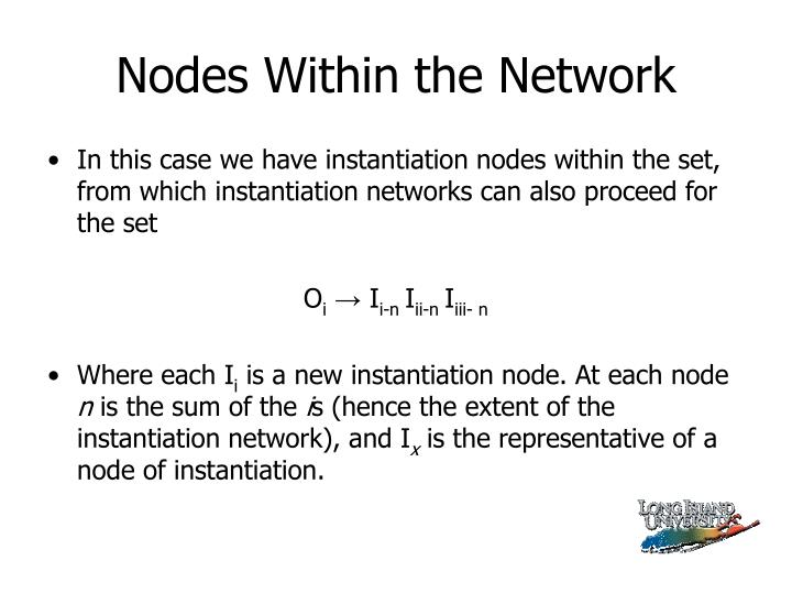 Nodes Within the Network