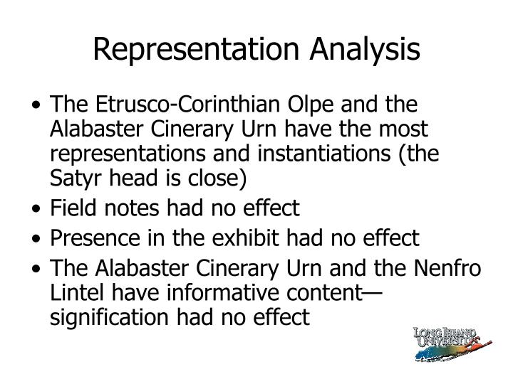 Representation Analysis