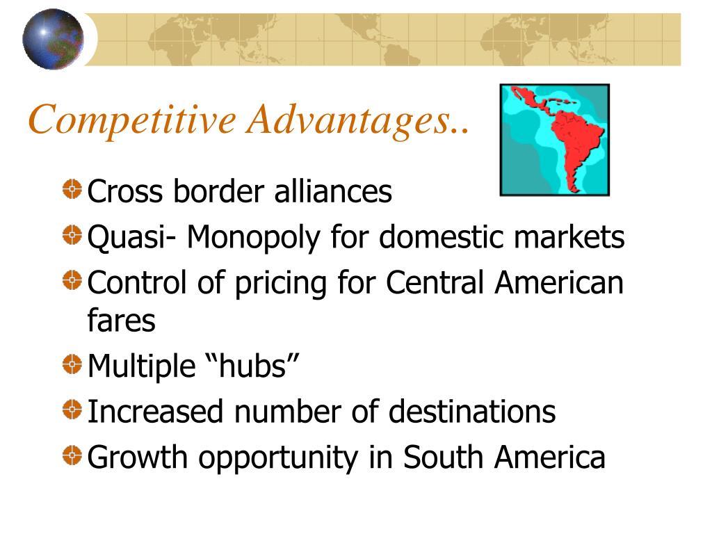 Competitive Advantages..