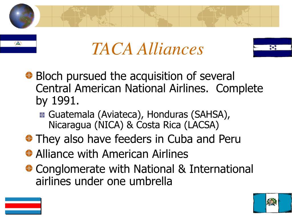 TACA Alliances