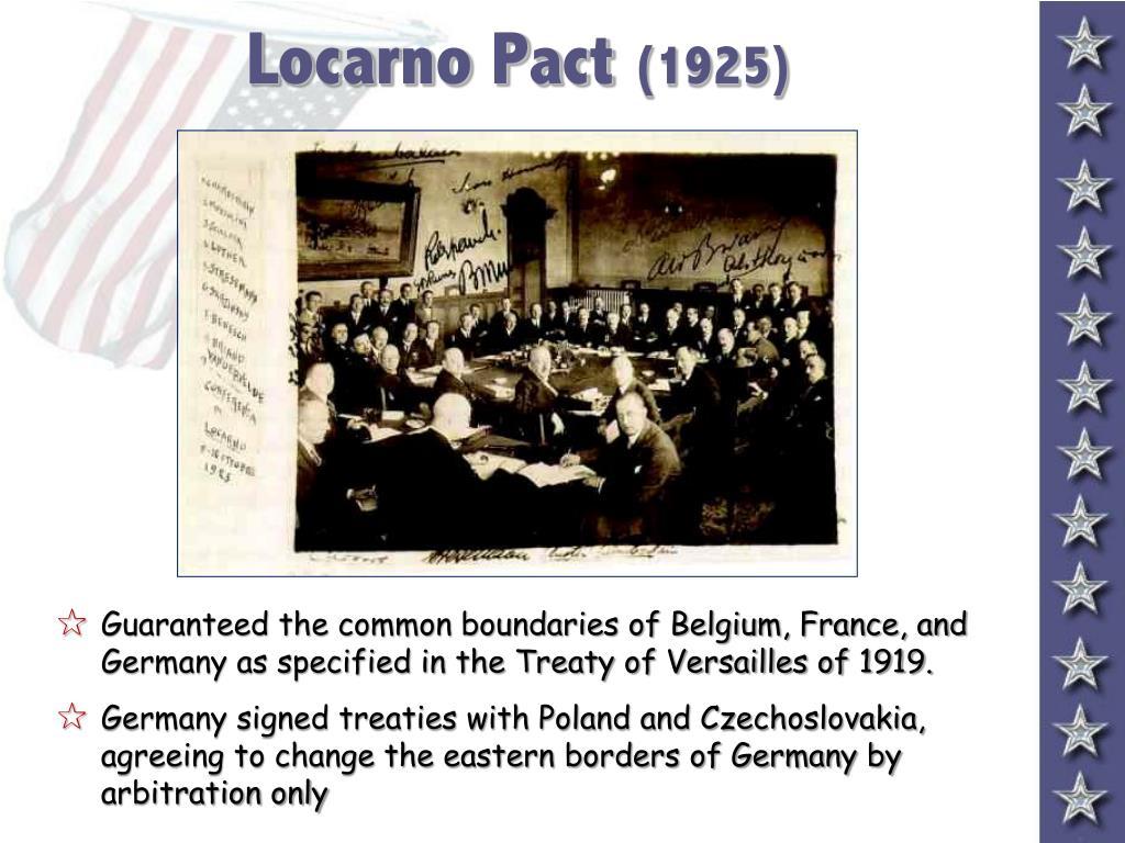 Locarno Pact