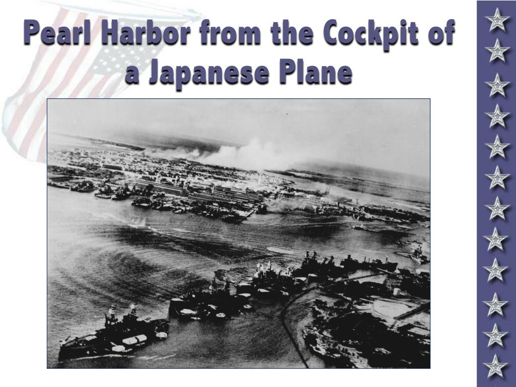 Pearl Harbor from the Cockpit of a Japanese Plane