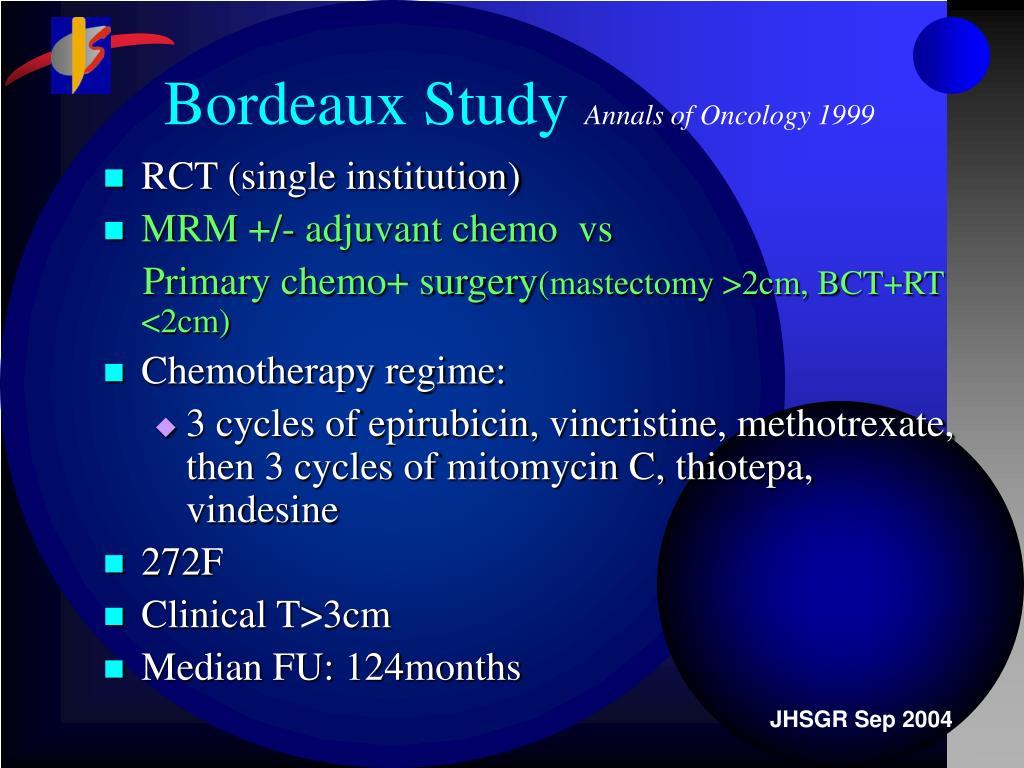 Bordeaux Study