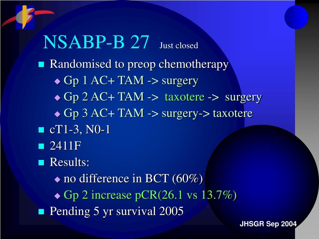 NSABP-B 27