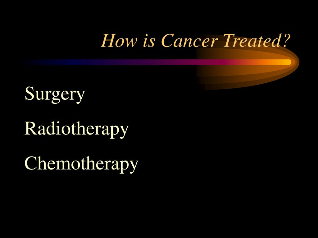 How is Cancer Treated?