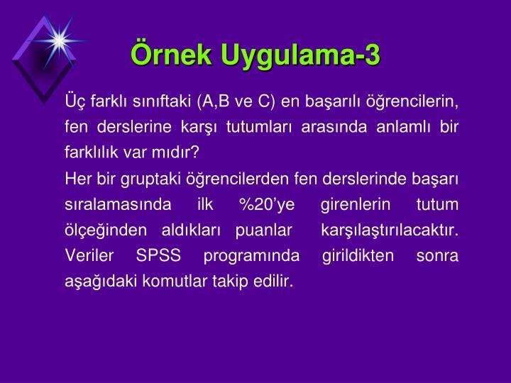 rnek Uygulama-3
