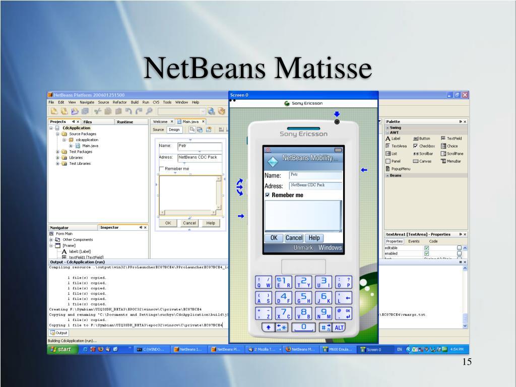 NetBeans Matisse