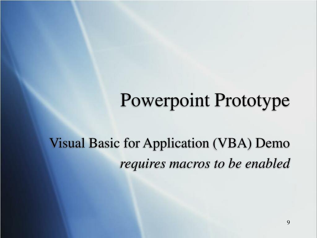 Powerpoint Prototype