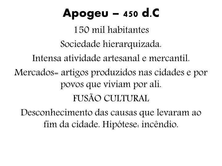 Apogeu – 450
