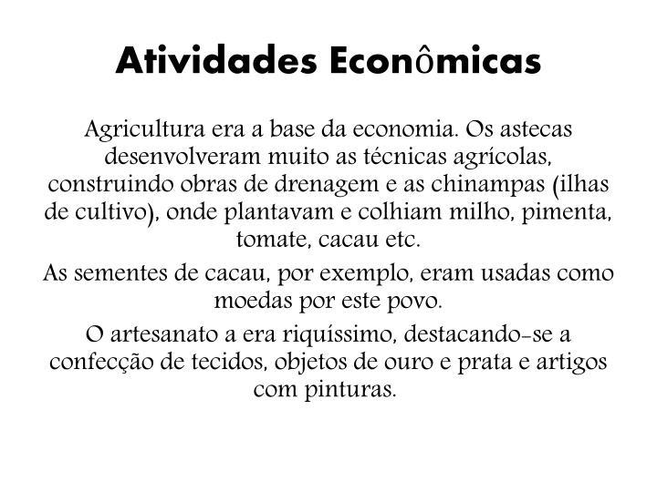 Atividades Econômicas