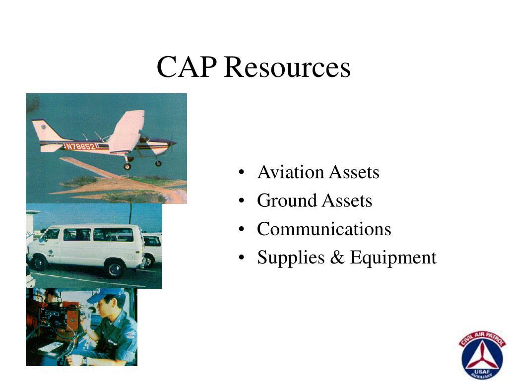 CAP Resources