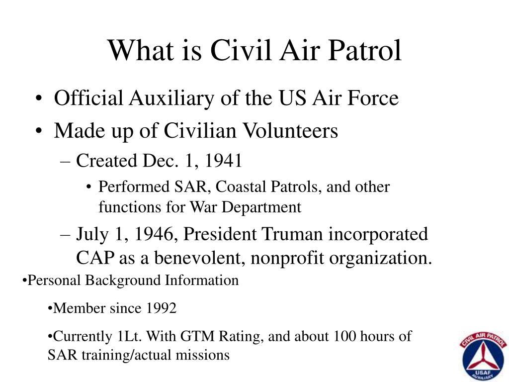 What is Civil Air Patrol