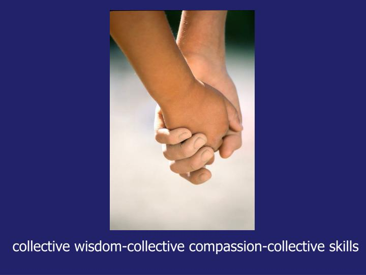 collective wisdom-collective compassion-collective skills