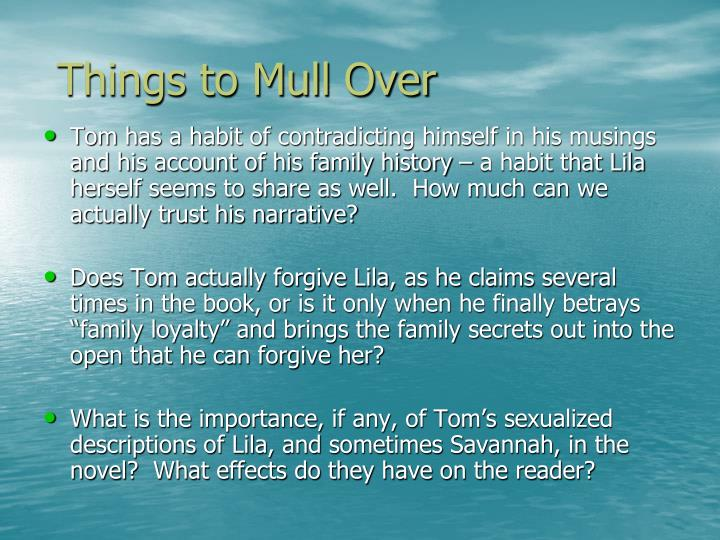 Things to Mull Over