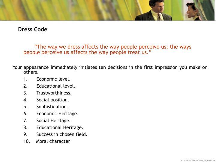 Dress Code