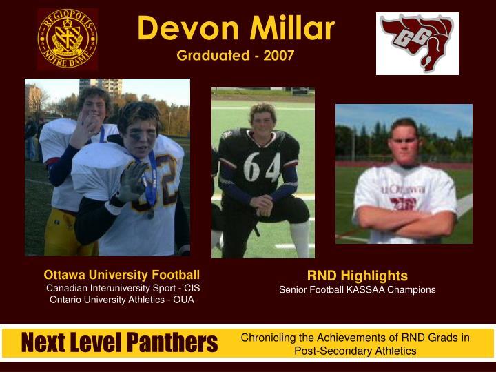 Devon Millar