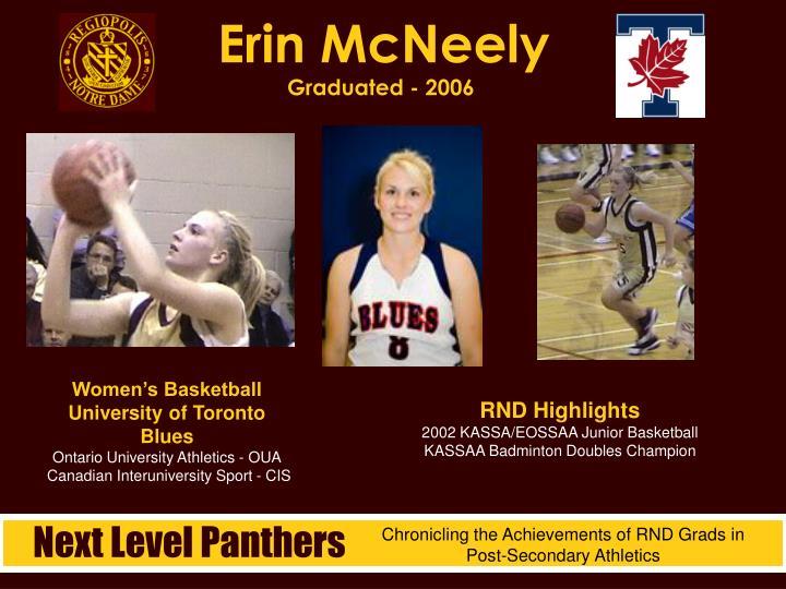 Erin McNeely